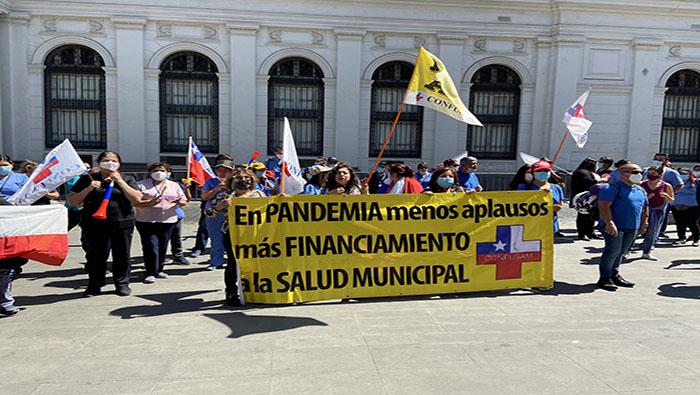 Personal de salud chileno reclama aumento del presupuesto | Noticias |  teleSUR