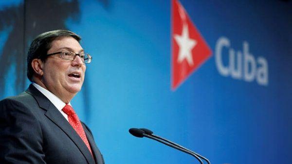 El canciller cubano condeno las acusaciones sobre la supuesta injerencia de su país en las elecciones estadounidense.