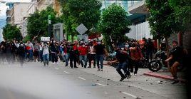 La represión del pasado sábado en Guatemala terminó con 37 personas arrestadas y 22 heridos.