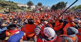 La Unión Portuaria de Chile llamaron a las organizaciones sindicales y sociales a caminar hacia una nueva huelga general.