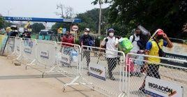 Las 31 personas portadoras de coronavirus arribaron a Venezuela procedentes de Colombia.