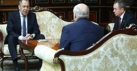 El encuentro entre el presidente de Belarus, Alexander Lukashenko, y el canciller de Rusia, Sergei Lavrov, abordó numerosos asuntos bilaterales.