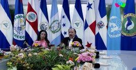 El presidente de Nicaragua, Daniel Orgtega, llamó a unir esfuerzos para dar la batalla al cambio climático.