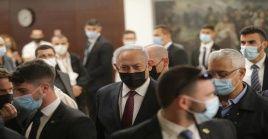 La votación de disolución del Knesset de Israel obtuvo 61 votos a favor, 54 en contra y cinco votos ausentes durante la sesión.