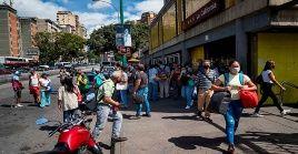 Venezuela contabiliza 103.548 contagios y 909 decesos por la Covid-19.