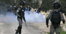 Por otro lado, las tropas israelíes han atacado otra manifestación similar cerca de la ciudad de Salfit, también en Cisjordania,
