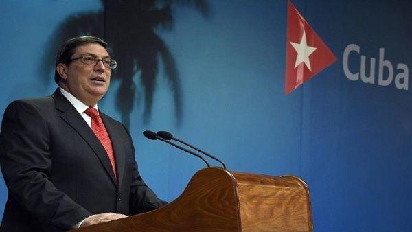El canciller de Cuba, Bruno Rodríguez Parrilla, consideró la reciente convocatoria del Departamento de Estado como flagrante agresión y violación del Derecho Internacional.