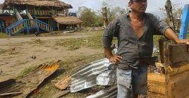 Debido a las lluvias, en comunidades guatemaltecas ocurrieron aludes que enterraron caseríos completos debido a la precariedad de las viviendas.