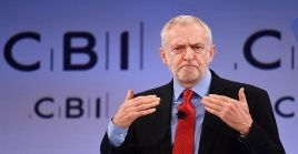 Corbyn fue uno de los principales líderes de la izquierda del Partido Laborista británico.