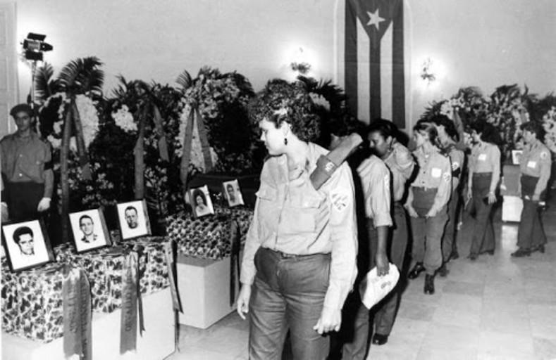 Con la presencia masiva del pueblo en la despedida, como antes en las misiones internacionalistas, se produjo el 7 de diciembre de 1989 la Operación Tributo.