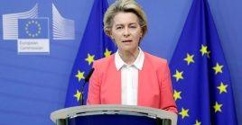 Von der Leyen dice que este domingo no se ha podido ir más allá y habrá que continuar las negociaciones.