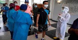 Sobre los casos importados, Ñáñez sostuvo que provienen de República Dominicana, Panamá, México y Brasil.