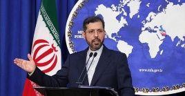 Ante las declaraciones del empleado de Trump, Jatibzadeenfatizó que Washington pretendedesesperadamente causar más hostilidades contra Teherán.