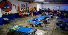 La Coordinadora Nacional para la Reducción de Desastres indicó que 5.217 personas se encuentran en 106 albergues desde noviembre.