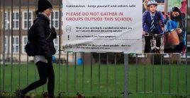 La Secretaría de Educación anunció el cierre de las escuelas primarias de Londres para mantener seguros a los estudiantes y a los entornos educativos.