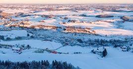 El pueblo noruego afectado por el deslizamiento de tierra estaría asentado sobre un terreno erosionado y con problemas hidrológicos.