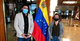 """Naranjo dijo que la Asamblea Nacional venezolana """"abre un nuevo periodo de diálogo y convivencia""""."""