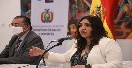La viceministra de Promoción y Vigilancia Epidemiológica de Bolivia, María Reneé Castro, también informó que el país está realizando más pruebas diagnósticas de Covid-19.