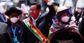 Luis Arce, al frente del gobierno de Bolivia desde noviembre pasado ha tenido que deshacer las arbitrariedades del gobierno de facto, de Jeanine Áñez.