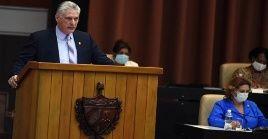 El presidente cubano Miguel Díaz-Canel también condenó las expresiones supremacistas de quienes trataron de impedir por la fuerza la certificación de Joe Biden como presidente de EE.UU.