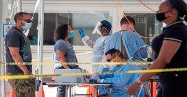 Según la Universidad Johns Hopkins, EE.UU. registró 280.551 nuevos casos de la Covid-19 y 3.676 fallecimientos en las últimas 24 horas.