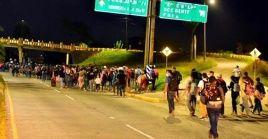 Más de una docena de caravanas han partido de Honduras desde octubre de 2018 rumbo a EE.UU.