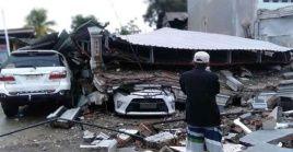 El sismo provocó el derrumbe de decenas de edificios en la isla de Cébeles, informó la Agencia Nacional de Gestión de Catástrofes.