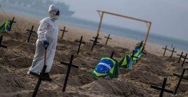 Ante la situación dramática que padece la nación suramericana, el canciller venezolano, Jorge Arreaza, confirmó la llegada de un grupo de 107 brigadistas médicos a la ciudad brasileña de Manaos.