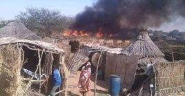 """La Asociación de Abogados de Darfur dijo que las milicias armadas """"se aprovecharon"""" de la disputa y aumentaron la violencia."""