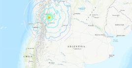 De acuerdo al Instituto Nacional de Prevención Sísmica (Inpres), el epicentro fue localizado a 54 kilómetros al sur oeste de la ciudad de San Juan.