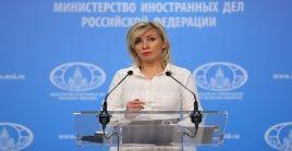 María Zajárova explicó que representantes del Parlamento Centroamericano (Parlacen) solicitaron al país europeo la prestación de una ayuda urgente.