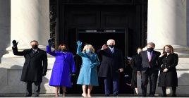 Joe Biden tomó posesión hoy de la presidencia de los Estados Unidos, siendo el 46 mandatario estadounidense