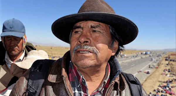 Confederación boliviana pide declarar héroe a líder indígena