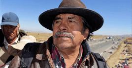 """El líder del Movimiento al Socialismo (MAS), Evo Morales, calificó como """"inmortal"""" al luchador aymara en su mensaje de condolencia."""
