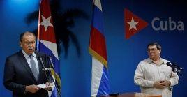 """""""Pasamos revista al estado actual de nuestras relaciones bilaterales e intercambiamos sobre temas de la agenda regional e internacional"""", declaró Bruno Rodríguez Parilla."""