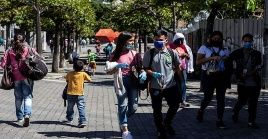 La capital venezolana con 146 nuevos casos, fue la región que más contagios contabilizó entre jueves y viernes.
