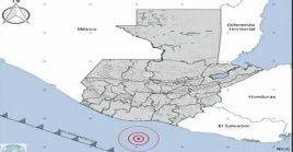 El sismo se sintió también en varias regiones de El Salvador.