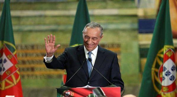 Rebelo de Sousa es reelecto como presidente en Portugal
