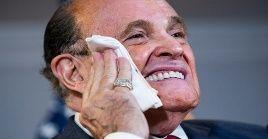 Rudy Giuliani fue uno de los miembros del equipo legal de Donald Trump que más defendió las denuncias por fraude electoral.