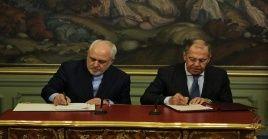 El ministro iraní de Asuntos Exteriores, Mohamad Yavad Zarif resaltó este martes en reunión con su homólogo ruso Serguéi Lavrov.