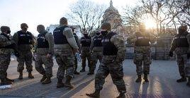 """""""Sabíamos que asistirían grupos de milicias y organizaciones supremacistas blancos"""", dijo la jefa interina de la policía del Capitolio, Yogananda Pittman."""
