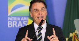 El mandatario reiteró que se está combatiendo la pandemia en Brasil.