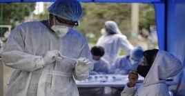 El país registró 366 decesos en las últimas horas, lo cual conlleva a contabilizar la totalidad de53.650 víctimas mortales.
