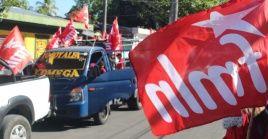 El FMLN emitió un comunicado en el cual denunció y condenó el asesinato de sus militantes.