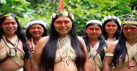 Durante el Foro, representantes de las comunidades indígenas se reúnen con los Gobiernos y organizaciones dedicadas al desarrollo.