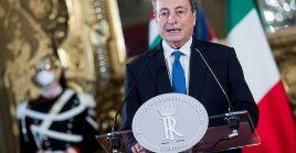 El 52 por ciento de los encuestados se manifestaron favorables a que el Gobierno de Draghi debería llegar al final de lalegislatura.