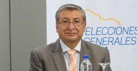El consejero del CNE, José Cabrera, puntualizó que faltan por escrutar el 2,44 porciento de las actas electorales.