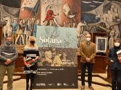 La muestra tiene lugar enla sala IgnacioZuloagade Fuendetodos, ubicada en la ciudad española de Zaragoza.