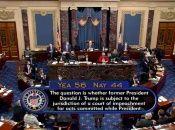 Seis senadores republicanos se unieron a los demócratas para enjuiciar al exmandatario.