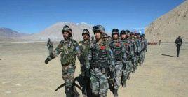 Los ejércitos de China e India protagonizan frecuentos encontronazos militares en una zona fronteriza reclamada como propia por ambas naciones.